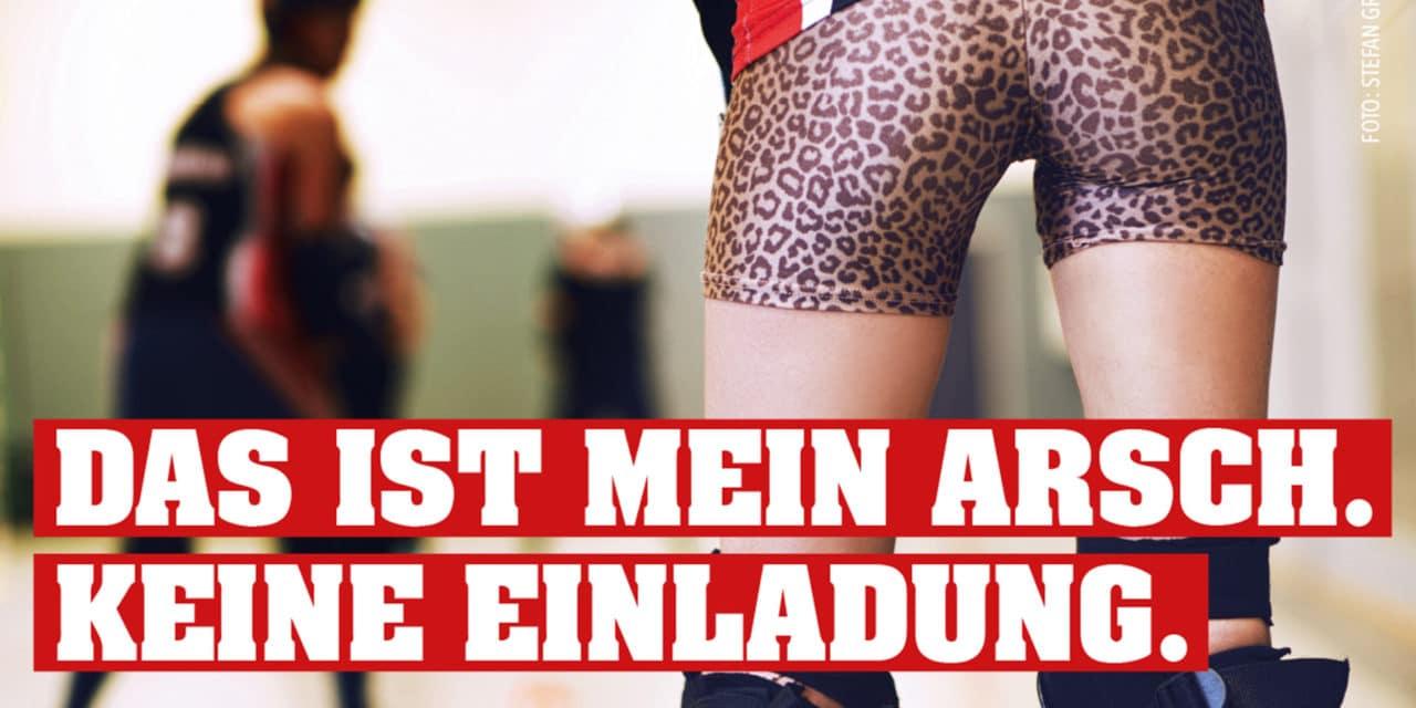 Kampagne des Hamburger Frauennotrufs