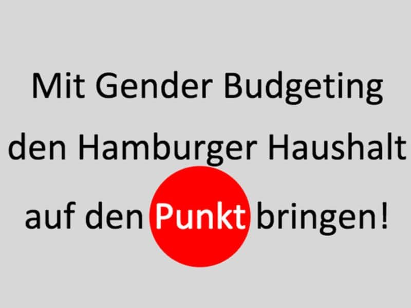 Gender Budgeting Aktion