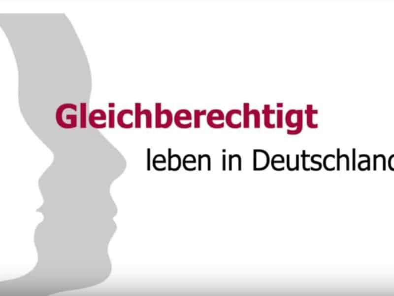 Gleichberechtigt leben in Deutschland