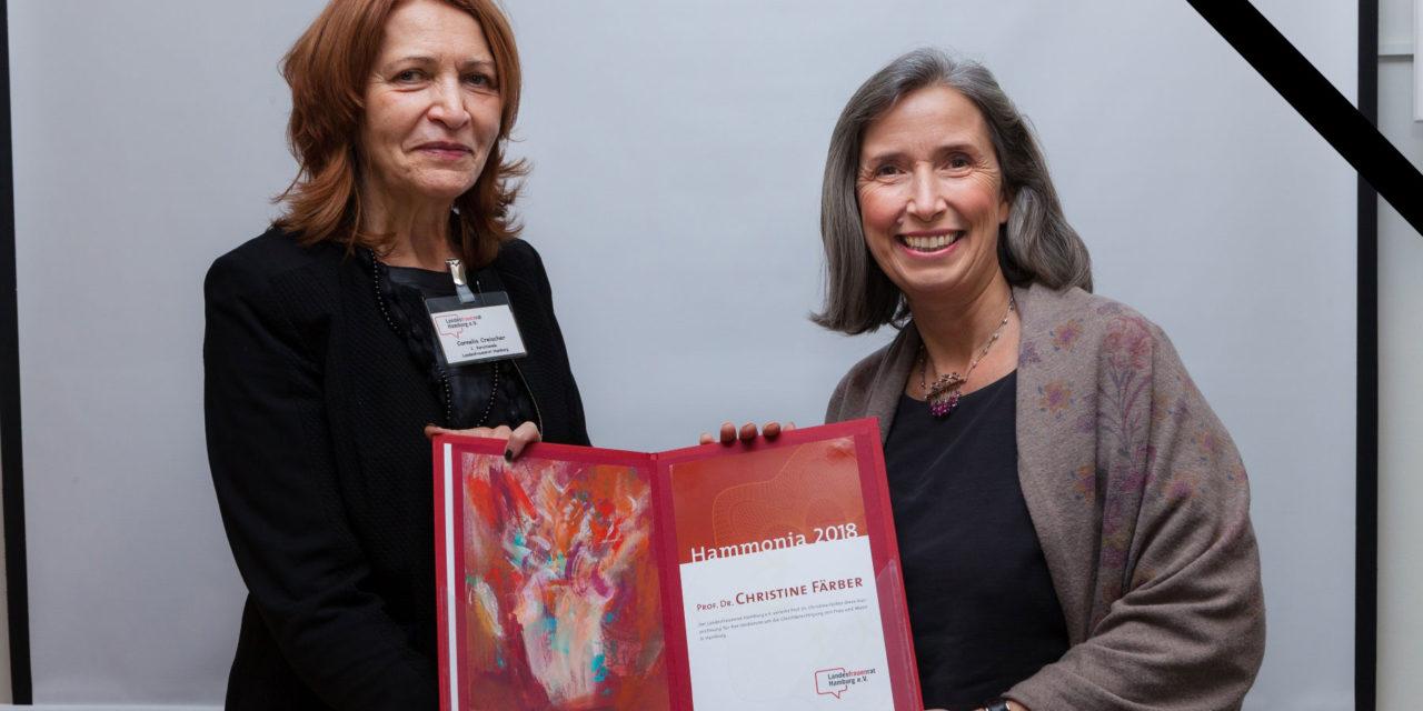 Nachruf Frau Prof'in Dr. Christine Färber