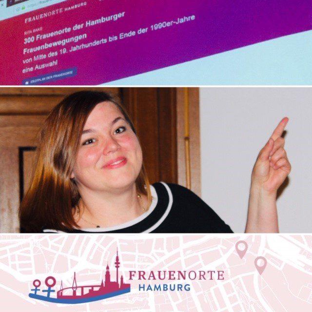 Frauenorte Hamburg mit Gleichstellungssenatorin Katharina Fegebank