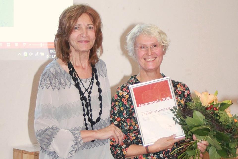 Verleihung der Hammonia 2019 an Prof'in Dr. Sabine Stövesand