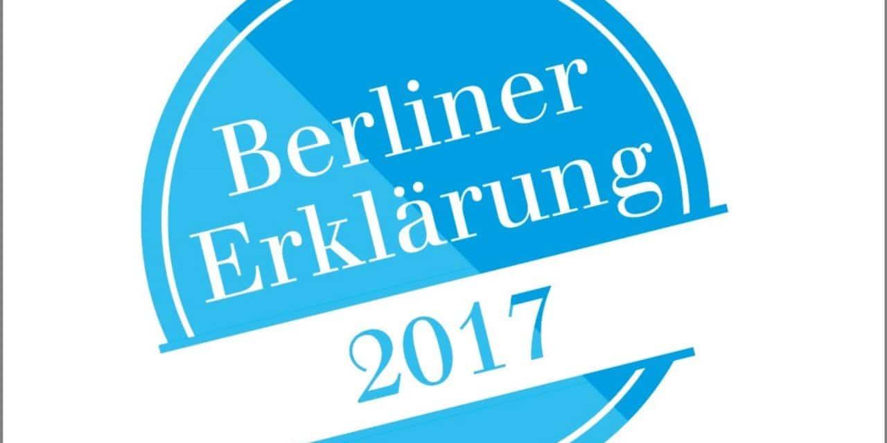 Berliner Erklärung 2017